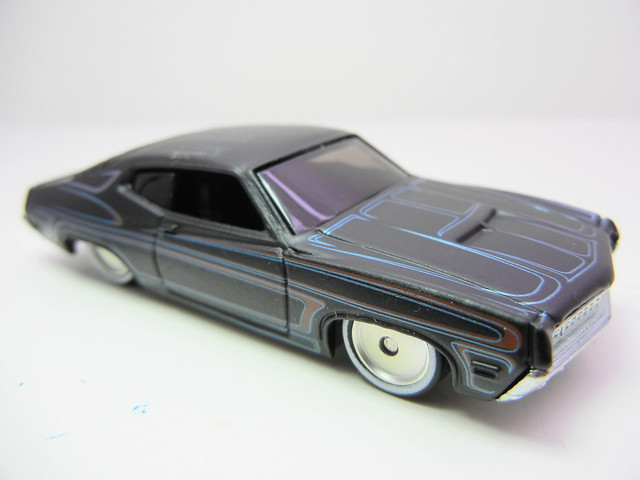 hot wheels garage '70 ford torino  (3)
