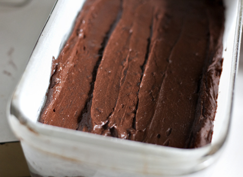 Red Wine Chocolate Cake Batter