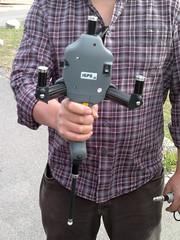 The handheld, four sensor recording instrument