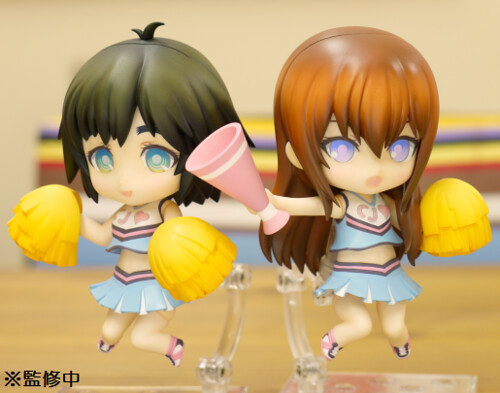 Nendoroid Mayuri Shiina and Makise Kurisu Support version