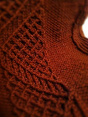 Non secret knitting!