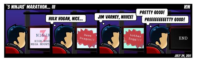 '3 Ninjas' Maraton... III