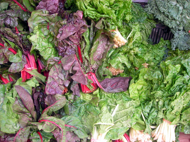 Swiss chard and greens