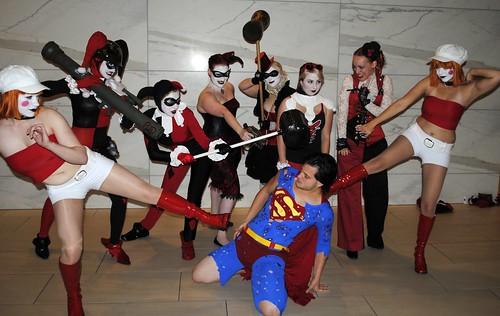 Harley Quinns vs. Superman