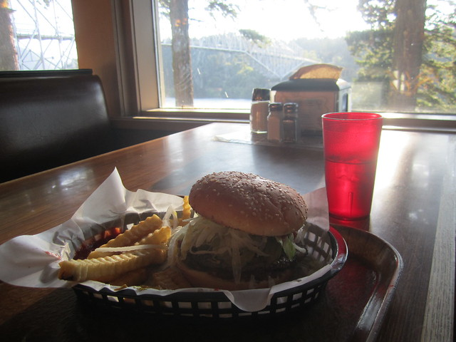 I waited all trip for this burger!