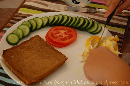 Cucumber Breakfast