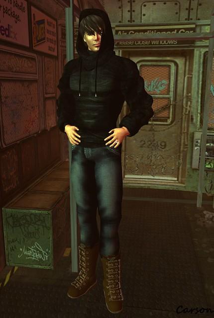 '''lotus noir''' hiden street outfit Hoodie