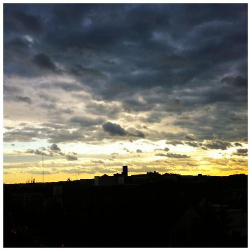 Post-Irene Sunset