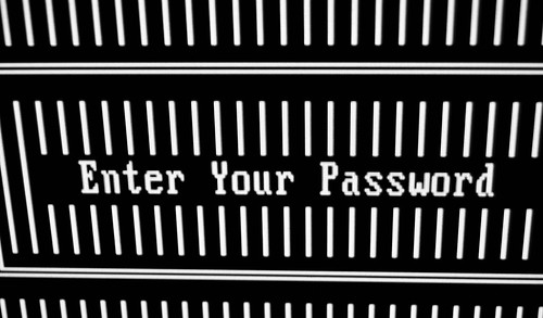 ENTER YOUR PASSWORD