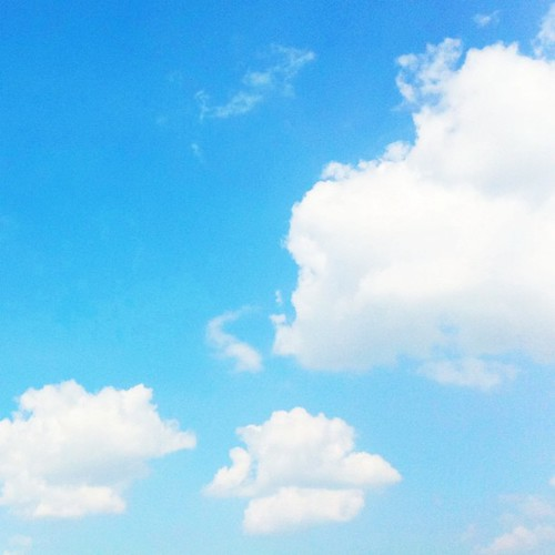 いま空。 秋も近いね! (^O^☆♪  #sky #iphonography #instagram