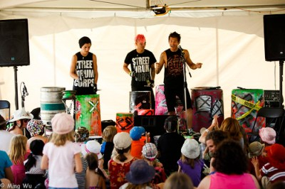 Bangs! in Kidzone @ Ottawa Folk Festival 2011