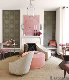 Barry Dixon House Beautiful pink and brown