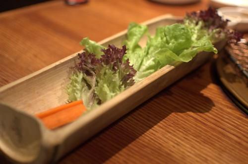 Lettuce & carrot