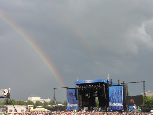 Arctic Monkeys at the end of the rainbow