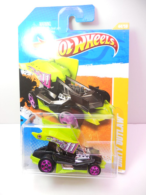 hot wheels dirty outlaw