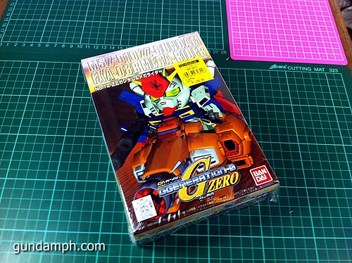 SD ZZ Gundam with Mega Rider (1)