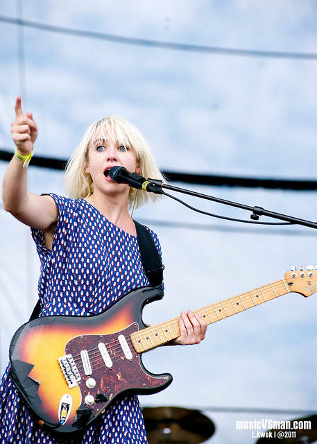 The Joy Formidable @ Kanrocksas 2011