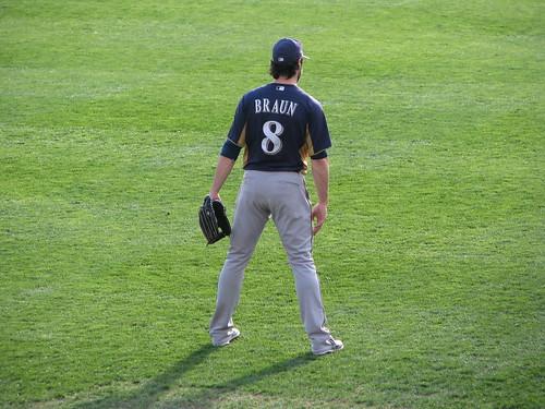 Ryan Braun during Batting Practice by heatherknitz, on Flickr