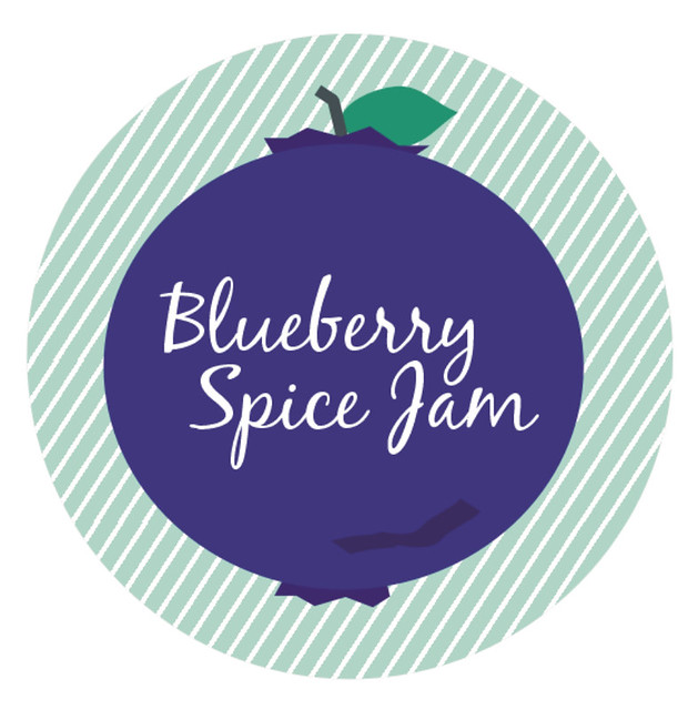 1 blueberry label