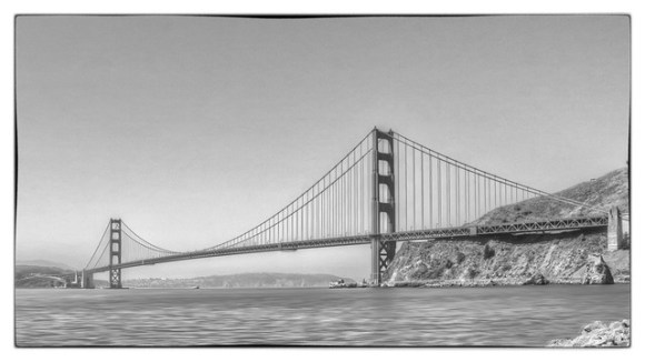 Golden Gate from Fort Baker by Scott Loftesness