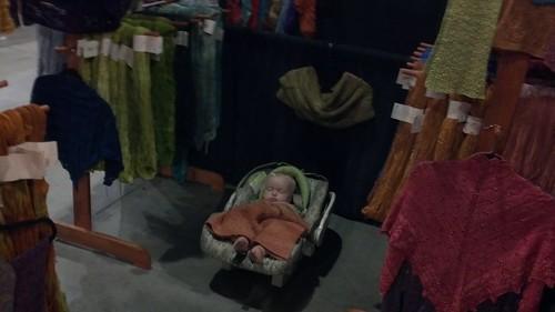baby slept through the setup