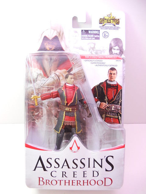 assassins creed brotherhood 3.75 figures (3)