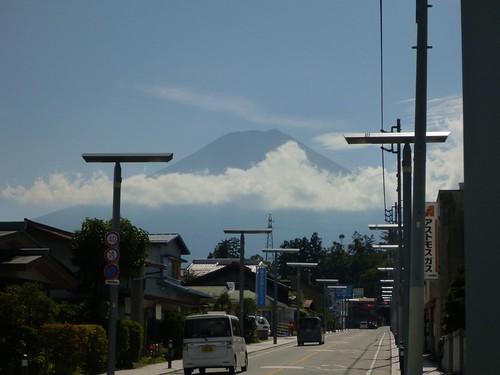 富士山駅へ, 一合目から富士山に登る Climbing Mt.fuji, from the starting point of Yoshidaguchi Climb Trail