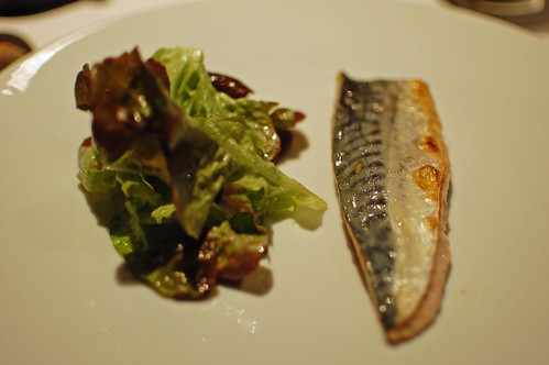 Flame grilled Cornish mackerel, Japanese flavour