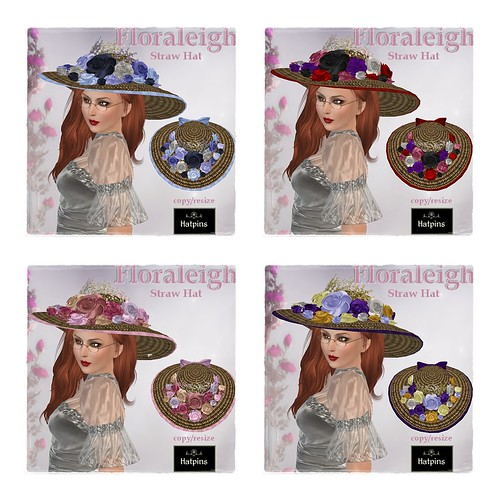 Hatpins - Floraleigh Straw Hats