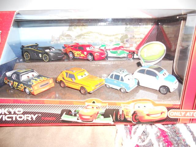 disney cars 2 traget tokyo victory 7 pack
