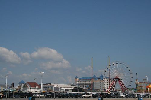 Ocean City Inlet area