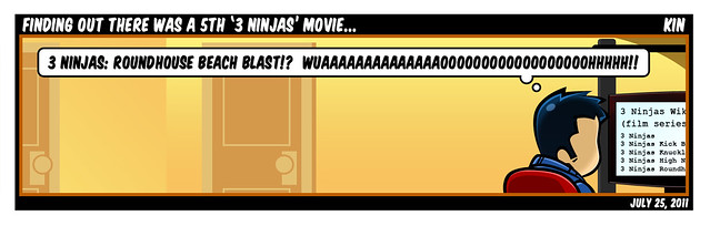 Finding Out There's A 5th '3 Ninjas' Movie...