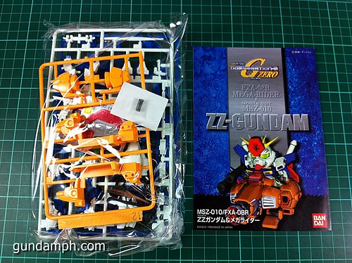 SD ZZ Gundam with Mega Rider (3)