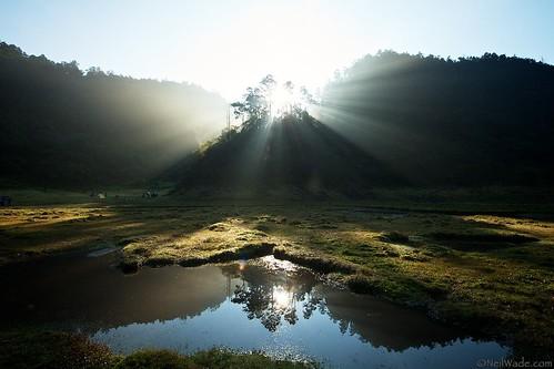 Hiking Sonluohu Lake Taiwan