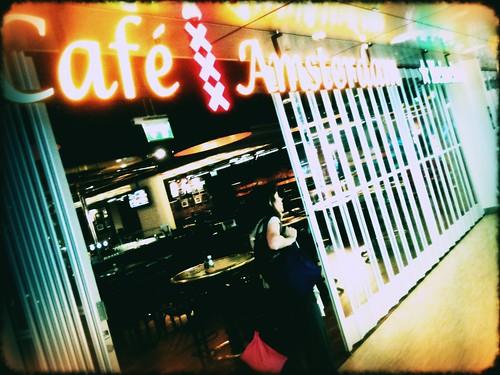 Café Amsterdam by Rick Brandt