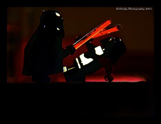#246/365 Emperor Palpatine vs. Darth Vader