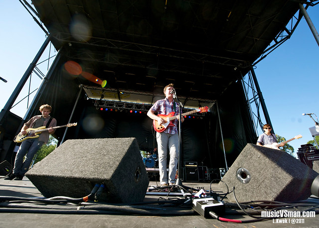 Surfer Blood @ LouFest 2011