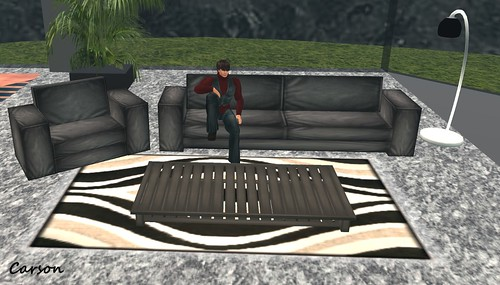 Ocean View Apartments - Black Lounge Set ($1L)
