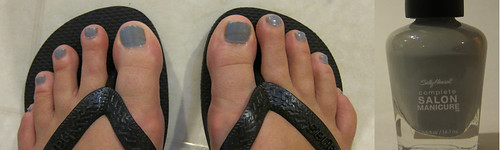 Grey Toenails