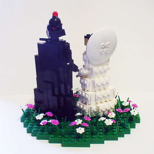Vader and Amidala on Flower Patch 2
