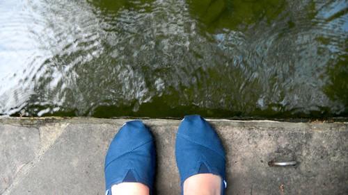 San Antonio River Walk feet by SusanKurilla