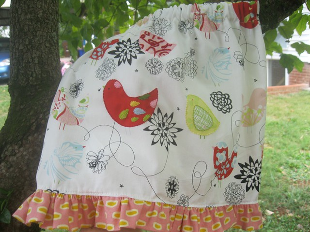 bird skirt #2 tiny version