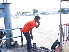 Chao Phraya Express Boatman