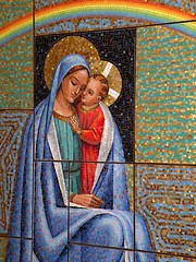Our Lady of Good Counsel Mosaic