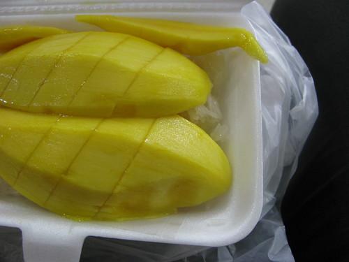old siam mango sticky rice