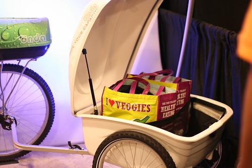 Onda hard shell bike trunk and trailer