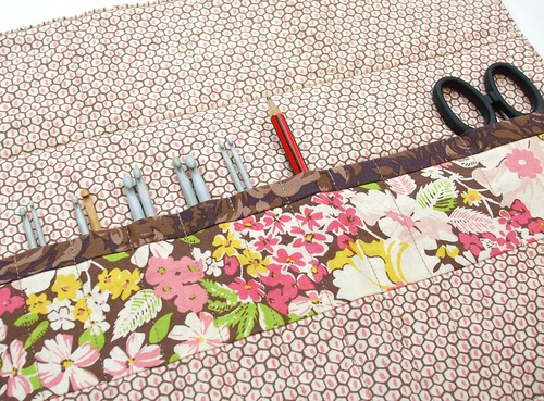 Crochet hook storage - inside
