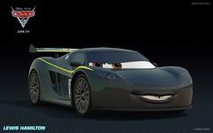 Cars 2 - Lewis Hamilton