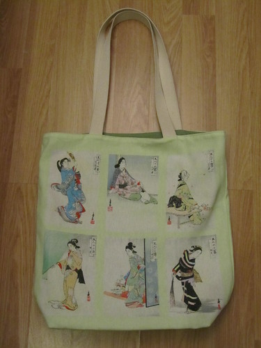 Japanese Beauties bag