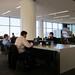 Work Desks by the Boarding Gates